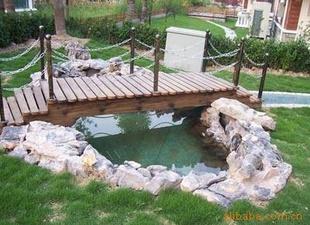 供应订做木桥  小木桥 防腐木桥 景观桥