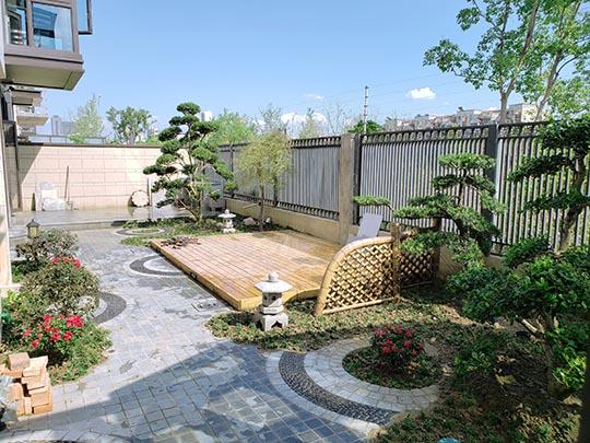 苏州别墅景观绿化设计 庭院别墅绿化工程