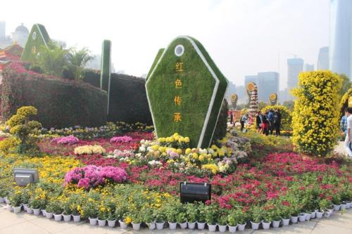 南昌一天1500吨水助绿化植物度过高温