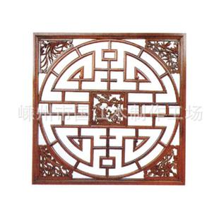 【批发加工东阳工艺品/扇形木雕/园形挂件/正方形茶