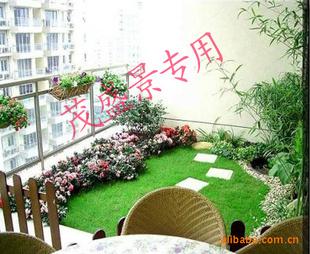 园林绿化,景观设计,阳台绿化效果图