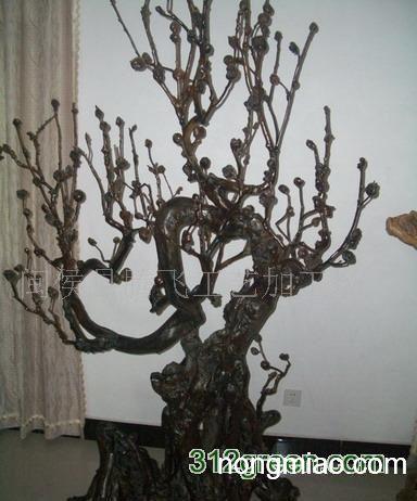 供应根雕梅花树