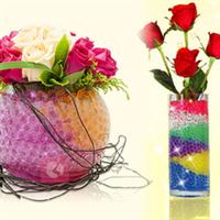 供应花卉水晶泥、质量较优、价格较低