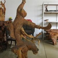 天然根雕-葫芦娃