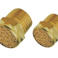 电磁阀纯铜消声器平头消声器微型消声器SLM热卖2分
