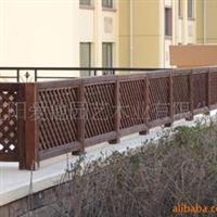 长期供应防腐木园艺护栏、栅栏、围栏