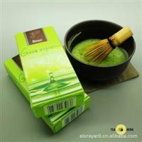 顶级抹茶:日本进口抹茶[鹿儿岛の抹茶]石臼で挽きたて一盒6条