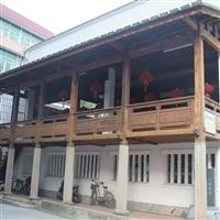 南宁木结构施工 专业阳台防腐木装修