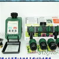 供应4接口分配器与电子阀的灌溉系统(4连接件)