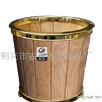 供应高档花盆木制工艺花盆容器