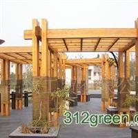 供应防腐木廊架