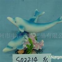 供应双海豚与珊瑚