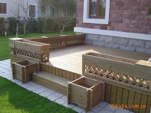 木地板 景观木平台 防腐木平台