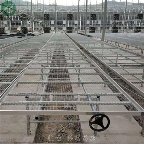 温室耐用型移动苗床-平移式苗床-加厚加料