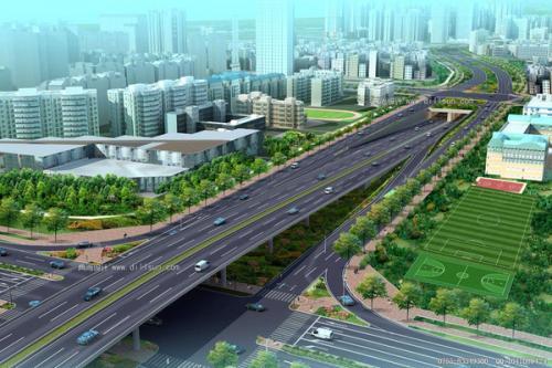 山东泰安市岱岳区下港镇新增绿化带2.9万平方米