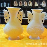 供海南特级天然砗磲贝壳雕刻工艺品花瓶