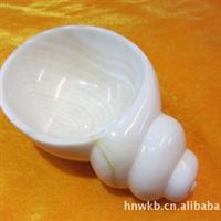 供海南特级天然砗磲贝壳精美雕塑艺术品烟灰缸