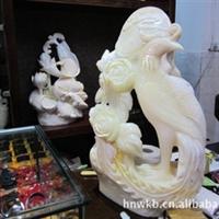 供应海南特级天然砗磲贝壳艺术雕刻品大麒麟、凤凰、龙