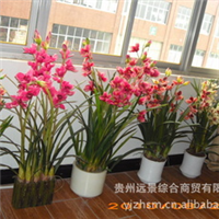 批量【供应】【定做】高仿真花卉盆景Ⅳ厂