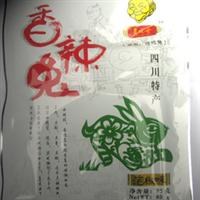 厂家直销[老祖母]香辣兔肉干/四川特色休闲食品/85克/泡椒味