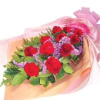 宁德花店 中秋节 圣诞节 七夕 情人节 11朵 红玫瑰 生日花束 N020