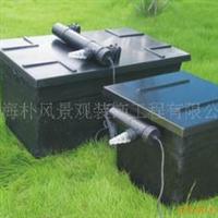 上海朴风供应鱼池水处理设备不锈钢景观工程景观水过滤器