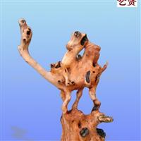 供应骆驼根艺作品