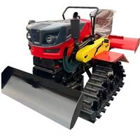 25马力水旱两用履带旋耕机  乘坐式旋耕机