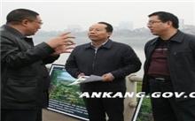 陕西省:宝鸡市副市长检查秋季造林绿化工作