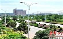 娄底市绿化处为城区20条街道��绿