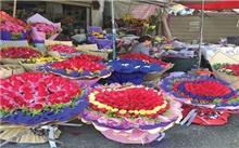 连续高温储存遇困 临沂鲜花市场鲜花价格跳水
