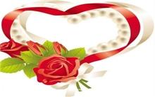 玫瑰花的心