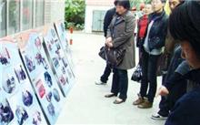 蠡县花园志愿者帮助居民绿化