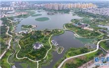 """安徽省黄山市屯溪区,打造城市""""绿肺"""""""