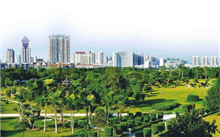 锦州开发区加强城市园林绿化连衣裙