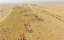 甘肃:武威军民十余年来坚持以防沙治沙沙漠绿洲悄悄地让