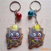 供应钥匙扣/椰子壳锁匙扣/椰子壳钥匙扣