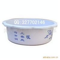 水仙花盆批发 圆型塑料盆 水仙花专用盆