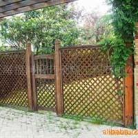 防腐木围栏  花圃围栏  木制围栏 防腐木护栏