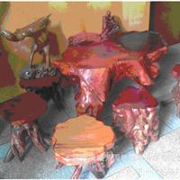 供应艺术品根雕 实木根雕