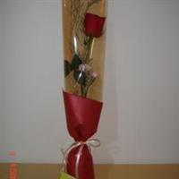 宁德花店 闽东鲜花 圣诞节 白色情人节 红玫瑰 单枝精美包装 N035