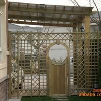 防腐木护栏、庭院围栏、木质围栏 、花园围栏、 围栏护栏