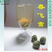 【福鼎白茶 厂家直销】工艺花茶-迎春飘雪(工艺茶,福鼎白茶)