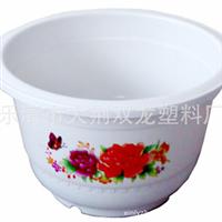 【厂家直销】/新绿洲牌/白色塑料花盆/A160×120/花边盆