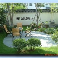 上海小区绿化,上海园林绿化,上海防腐木