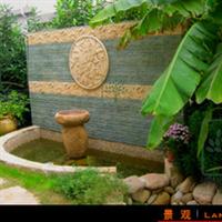 提供花园设计庭院景观设计景观水池喷泉水景设计施工服务