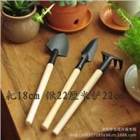 迷你工具|迷你园艺三件套|小铁铲/耙/锹|种花工具花卉盆栽园艺