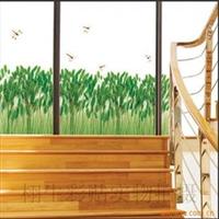 阿里巴巴最低价组合贴墙贴DIY蜻蜓芦苇(货号:TC--1069)