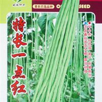 蔬菜种子特长一点红豆角种子豇豆长豆角25g彩包