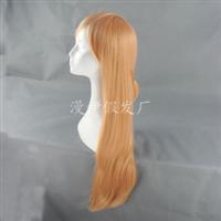 动漫假发刀剑神域亚丝娜结城明日茶棕色厂家直销一件代发wig